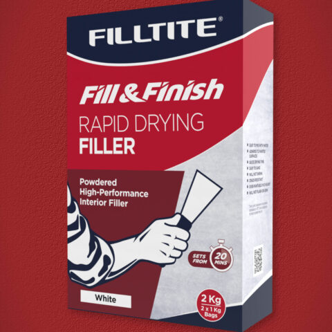 Filltite Rapid-Drying Filler 2.0Kg