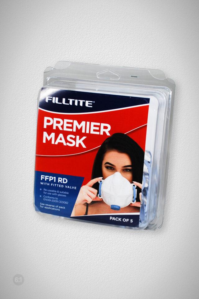 Filltite Premier Mask FFP1 RD